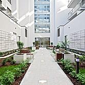 ConceptHouse Mokotów wewnętrzny dziedziniec