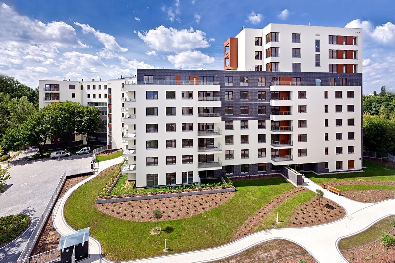 Apartamenty przy Krasińskiego - zadbane części wspólne